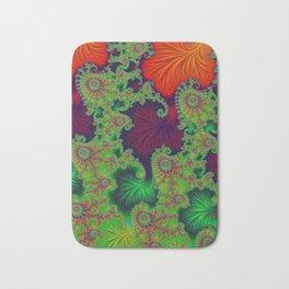 Psychadelic Centerpiece - Fractal Art Bath Mat