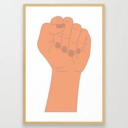 Female Power 4 Framed Art Print