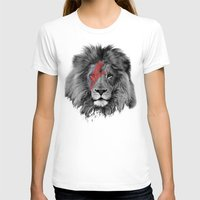 david bowie T-shirts featuring David Bowie Lion by Urban Exclaim Co.