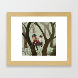 Hook and Smee Framed Art Print