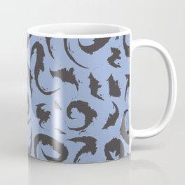Bats in Blue Coffee Mug