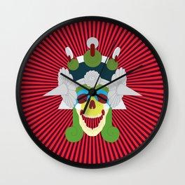 Day of the Dead- Mictecacihuatl Wall Clock