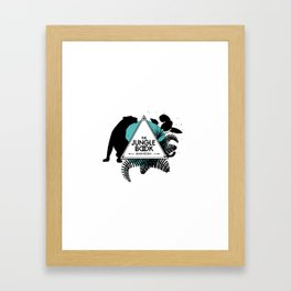 The jungle book - Bagheera panther Framed Art Print