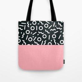 Memphis pattern 50 Tote Bag