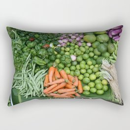 Asia vegetables on market #society6 #vegetables Rectangular Pillow