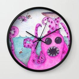 Octavius Strikes Again Wall Clock
