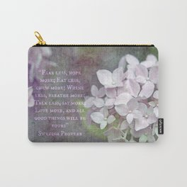 All Good Things Will Be Yours Carry-All Pouch