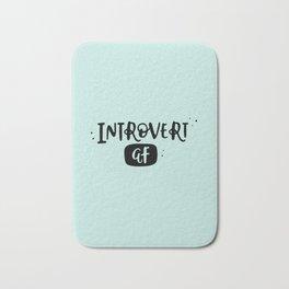 Introvert AF Bath Mat