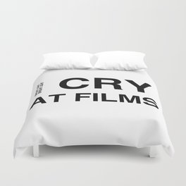 Cry At Films Duvet Cover