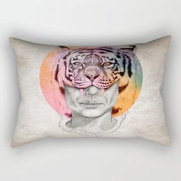 The Tiger Lady Rectangular Pillow