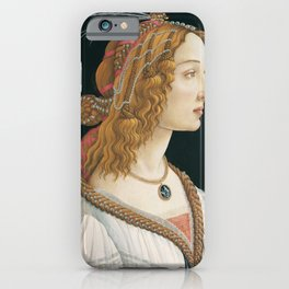 Sandro Botticelli - Idealized Portrait of a Lady iPhone Case