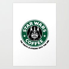 ForceCoffee Art Print