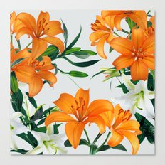 Glorious Lilies Canvas Print