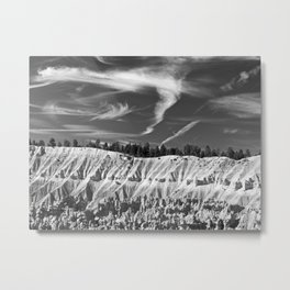 Cloudscape over Bryce Canyon Metal Print
