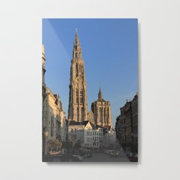 Our Lady Cathedral - Antwerp Metal Print