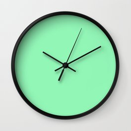 Magic Mint Wall Clock