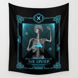 The Gamer X Tarot Card Wall Tapestry