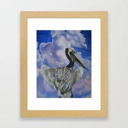 Lapis Sky Framed Art Print