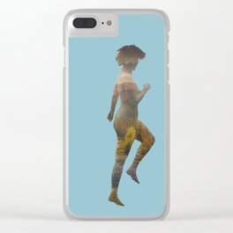 Beaching Clear iPhone Case