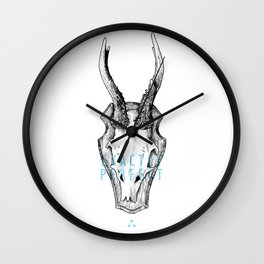 Exactly Perfect  Wall Clock