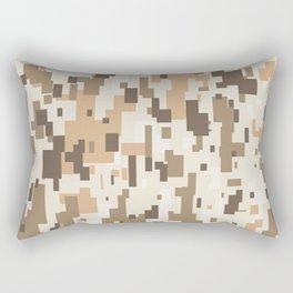 Digital Desert Camo Rectangular Pillow