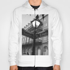 French Quarter, New Orleans streets Hoody