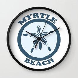 Myrtle Beach - South Carolina. Wall Clock