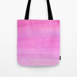 Modern hand painted pink watercolor gradient pattern Tote Bag