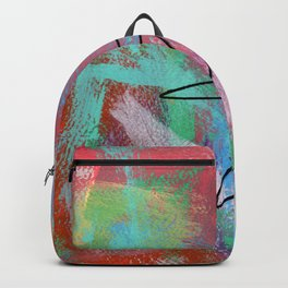 Abstract Modern - Where Is Your Passion? no.5 Backpack