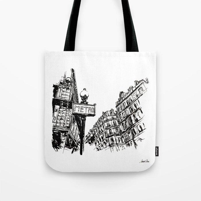 Urban Inkscape 3 Paris Tote Bag