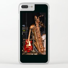G&S... Clear iPhone Case