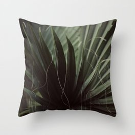 Lost in Palms Throw Pillow