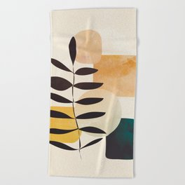 Abstract Elements 20 Beach Towel
