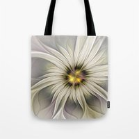 blossom Tote Bags featuring Blossom by gabiw Art