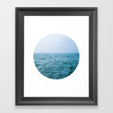 Nautical Porthole Study No.3 Framed Art Print