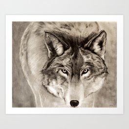 Deep Stare Art Print