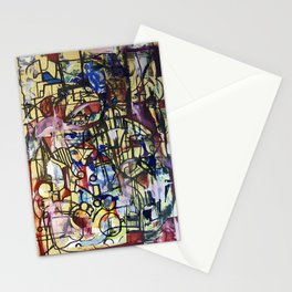 Experimentation with Pollock Stationery Cards