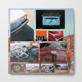 cars cars cars Metal Print