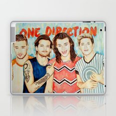 One Direction, Louis, Niall, Liam, Harry, Singer Laptop & iPad Skin