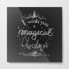 Magical Christmas Metal Print