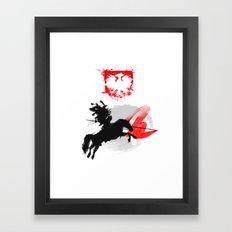 Polish Hussar Polska Husaria Framed Art Print