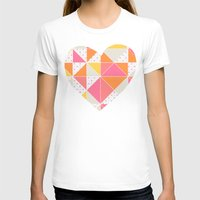 girly T-shirts featuring Girly Geometry by micklyn