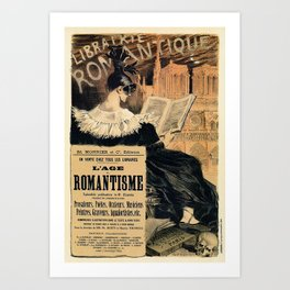 The Age of Romantism Art Print