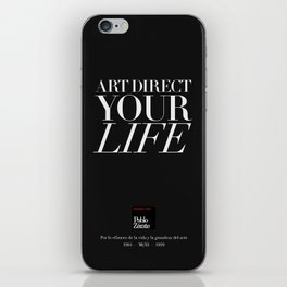 Art direct your life (Piece 05/08) iPhone Skin