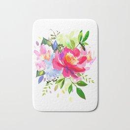 Flower arrangement I Bath Mat
