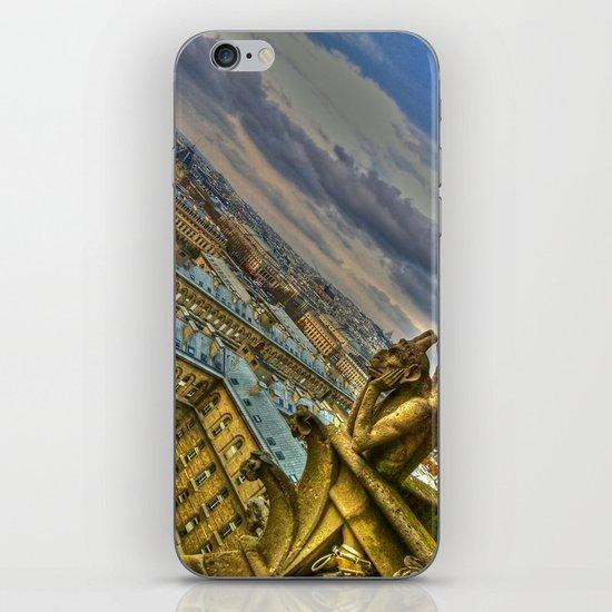 Gargoyle of the Notre Dame, Paris, France iPhone & iPod Skin