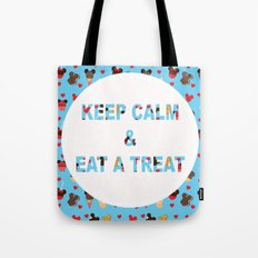KEEP CALM & EAT A TREAT Tote Bag
