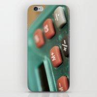 math iPhone & iPod Skins featuring Math by Big Tortoise Art (Art by JasonKoelliker)