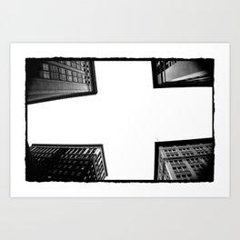 Corners Art Print