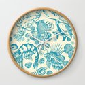 Ocean Sea Critters on White Background by draperandharlow